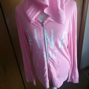Large vs PINK sweatshirt